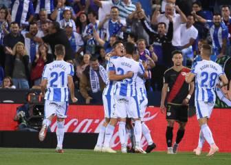 Guido Carrillo recupera en Leganés la rutina del gol