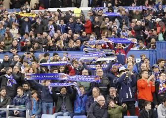 Zaragoza y Sporting, en el top europeo de aforo en Segunda