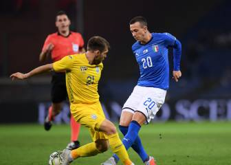 Italia no puede con Ucrania y Mancini no encuentra la tecla