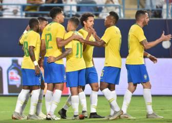 Brasil vence a Arabia Saudí en un pobre partido de la canarinha