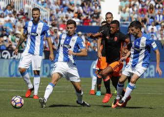 El Leganés, medicina para las crisis recientes del Valencia