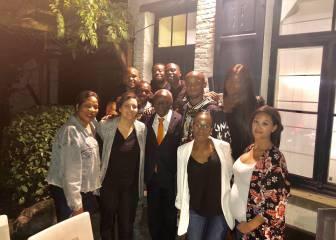El padre de Kompany, primer alcalde negro electo de Bélgica