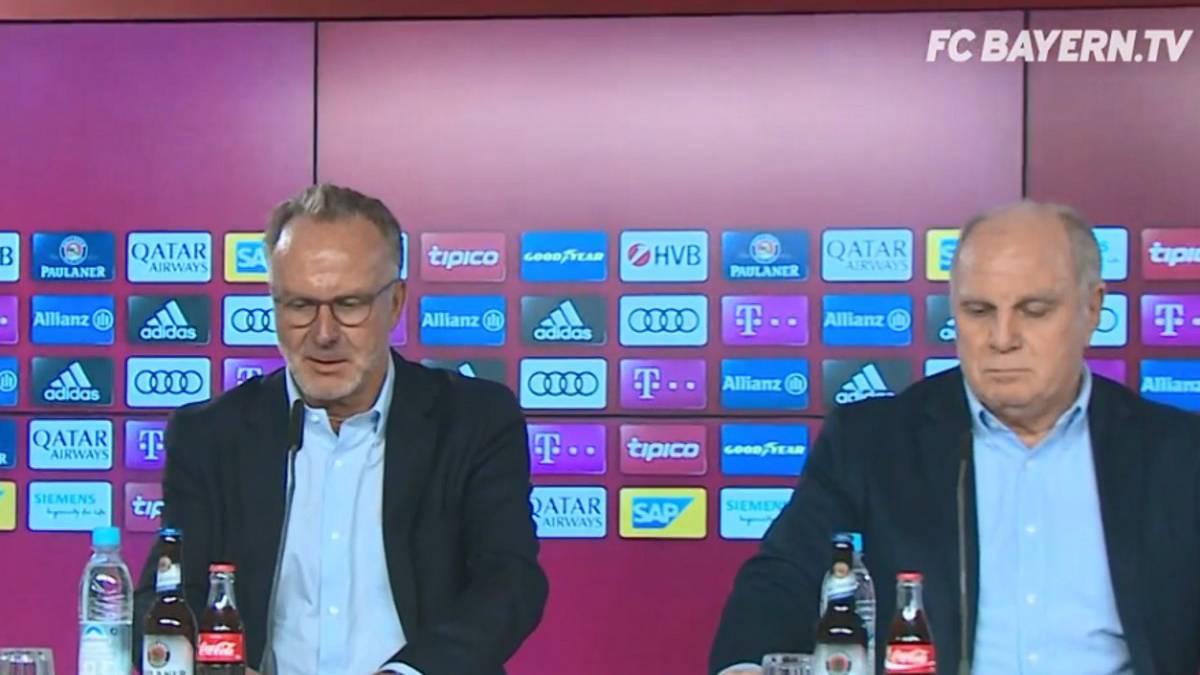Alemania Defensa en tromba del Bayern a su plantilla: \