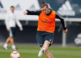 Bale está listo y podría jugar el sábado contra el Levante
