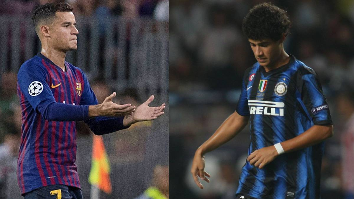 d0aba173fc1 Barcelona | Philippe Coutinho: 40 times the value since Inter Milan  struggles - AS.com