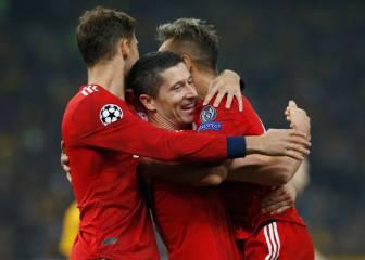 Dos minutos bastaron al Bayern