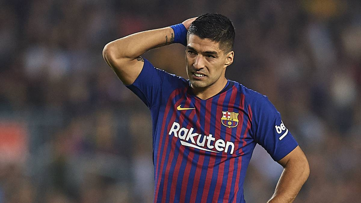 Luis Suárez no se entrenó con permiso del Barça - AS.com fa203f9b3147b