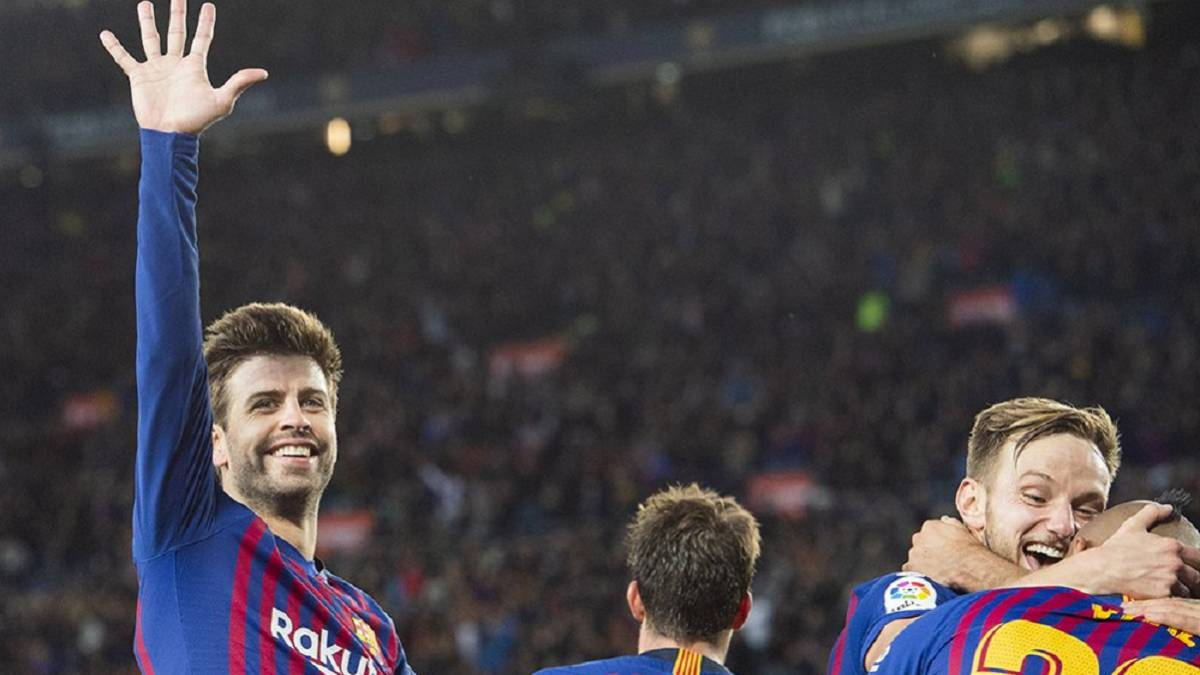 Barcelona laugh at Real Madrid on Twitter