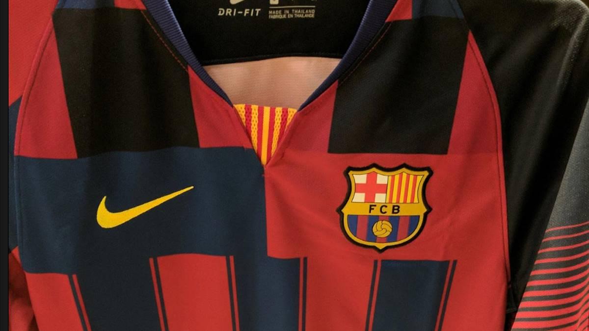 04265567f9553 La camiseta  edición especial  que el Barcelona negó ya se puede ver en  Corea del Sur