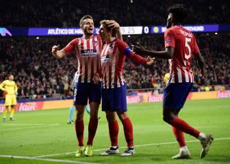 1x1 del Atlético: a Griezmann y a Saúl les va Europa
