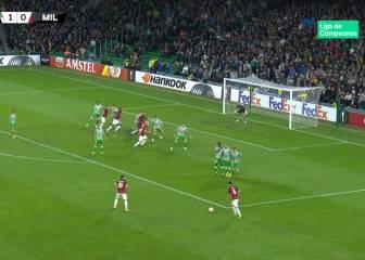 Si tuvo intención es el gol de la Europa League: la falta de Suso...