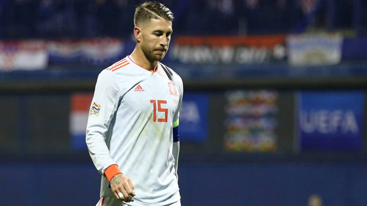 4f95cfce6ab1 Spain s Sergio Ramos returns to Real Madrid with groin problem - AS.com