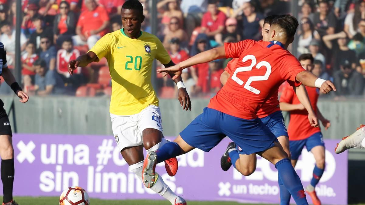 0e19a22b1e Real Madrid s Vinicius left out of Brazil squad for U-20 tournament ...