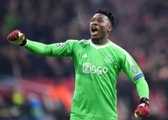 Onana, portero del Ajax: