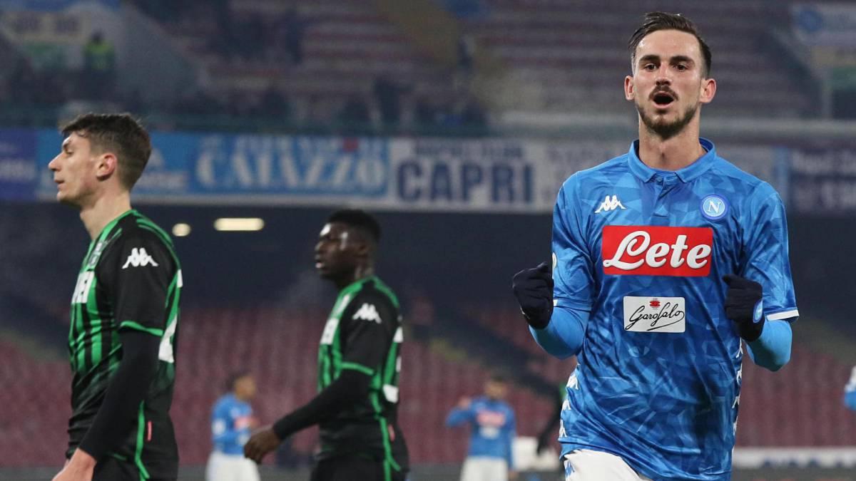 Fabián y Milik clasifican el Nápoles a cuartos de Copa - AS.com