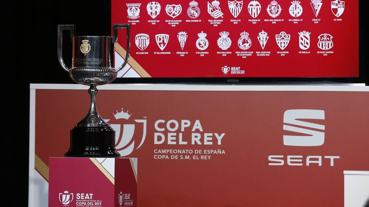 Sorteo de cuartos de Copa del Rey: horario, canal TV y cómo ver - AS.com