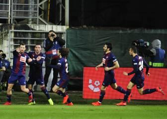 El Eibar pasó por encima de un Espanyol en apuros