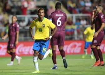 El Real Madrid tiene una joya: Rodrygo 2 - Venezuela 1