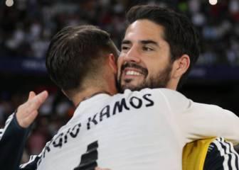"""Isco, a Ramos: """"¿Te has enterado de que no nos hablamos?"""""""