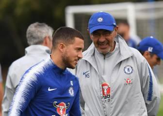 """Sarri: """"Hazard es un gran jugador, pero no es un líder"""""""