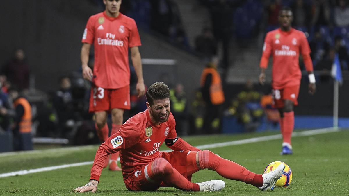 1998a578d80a Sergio Ramos  Real Madrid captain escapes major injury - AS.com