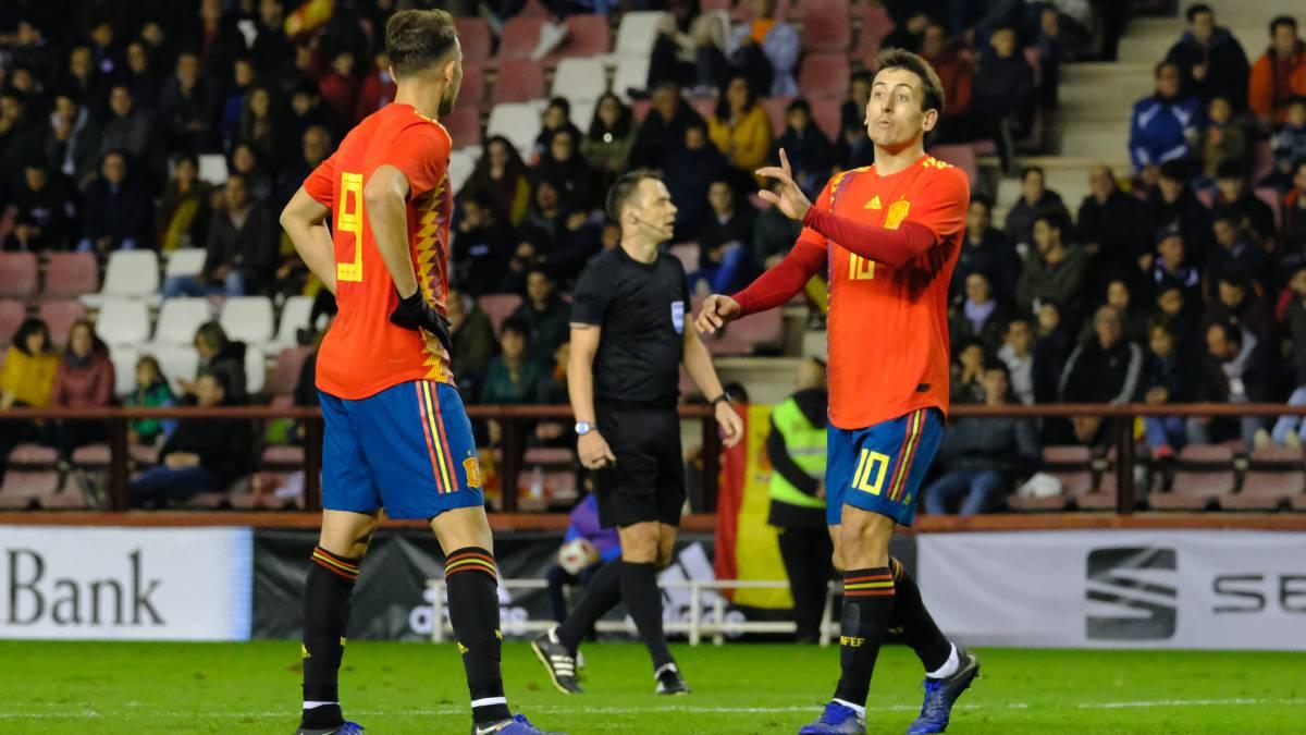 Selección  La Sub-21 jugará en marzo ante Rumanía y Austria - AS.com 0cb3349295832