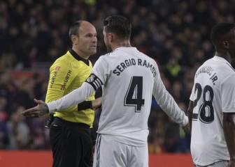 Ramos podría perderse una hipotética final de Copa: Apelación desestimó el recurso