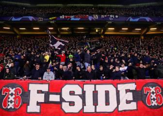 La UEFA permite a los ultras del Ajax venir al Santiago Bernabéu