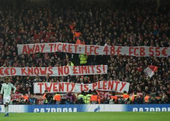 Los hinchas del Ajax se quejan del precio de las entradas: 65€