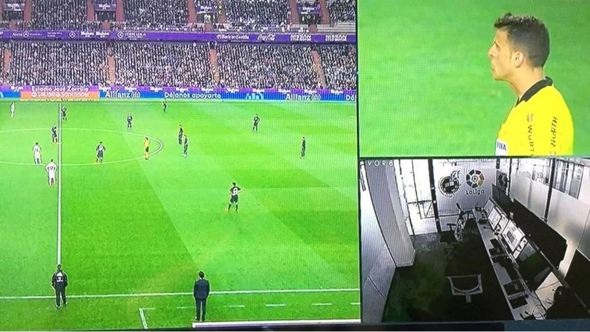 Le Real Madrid et la VAR, une véritable histoire d'amour !