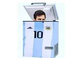 Messi, protagonista de los memes de los partidos internacionales