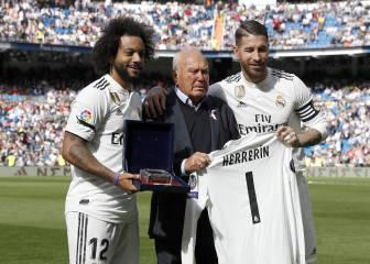 Fallece Herrerín, el delegado más familiar del Real Madrid