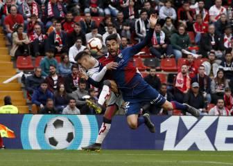 Un empate que empuja a Rayo y Huesca hacia los infiernos