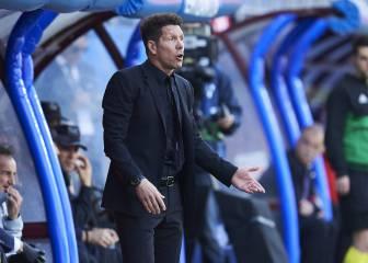 Simeone, sobre la 'colleja' del árbitro a Morata: