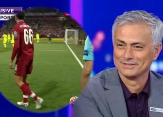 La rajada de Mourinho contra el Barça por el cuarto gol