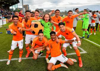 Holanda gana el Europeo Sub-17