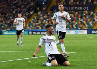 Demostración de fuerza de Alemania en su debut