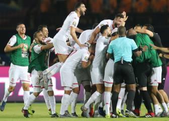 Túnez acaba con el sueño malgache y pasa a semifinales