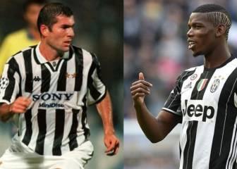 Pogba es la sombra de Zidane