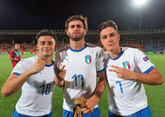 Italia aplasta a Armenia y se jugará el pase ante España