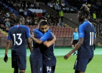 Francia pasa a las semifinales tras imponerse a Irlanda