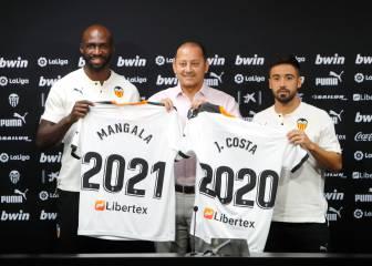 """Mangala y Costa, listos para la Real Sociedad: """"Estamos a tope"""""""