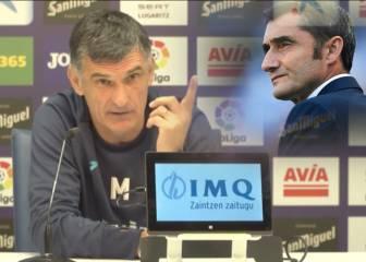 """Mendilibar desata las risas hablando de la situación de Valverde: """"Es listo el cabrón"""""""