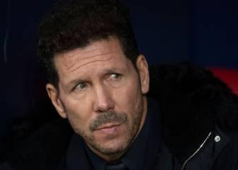 """Simeone: """"A Luis, a Caminero, a Kiko... nos han silbado a todos"""""""