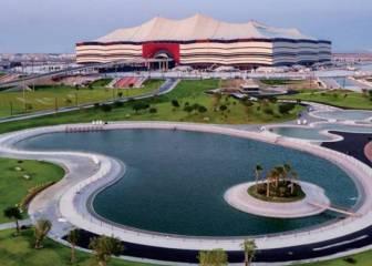 El trabajo en estadio Al Bayt está a punto de terminarse 1