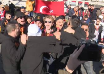 Fiesta sin incidentes: los turcos a tope en la Puerta del Sol