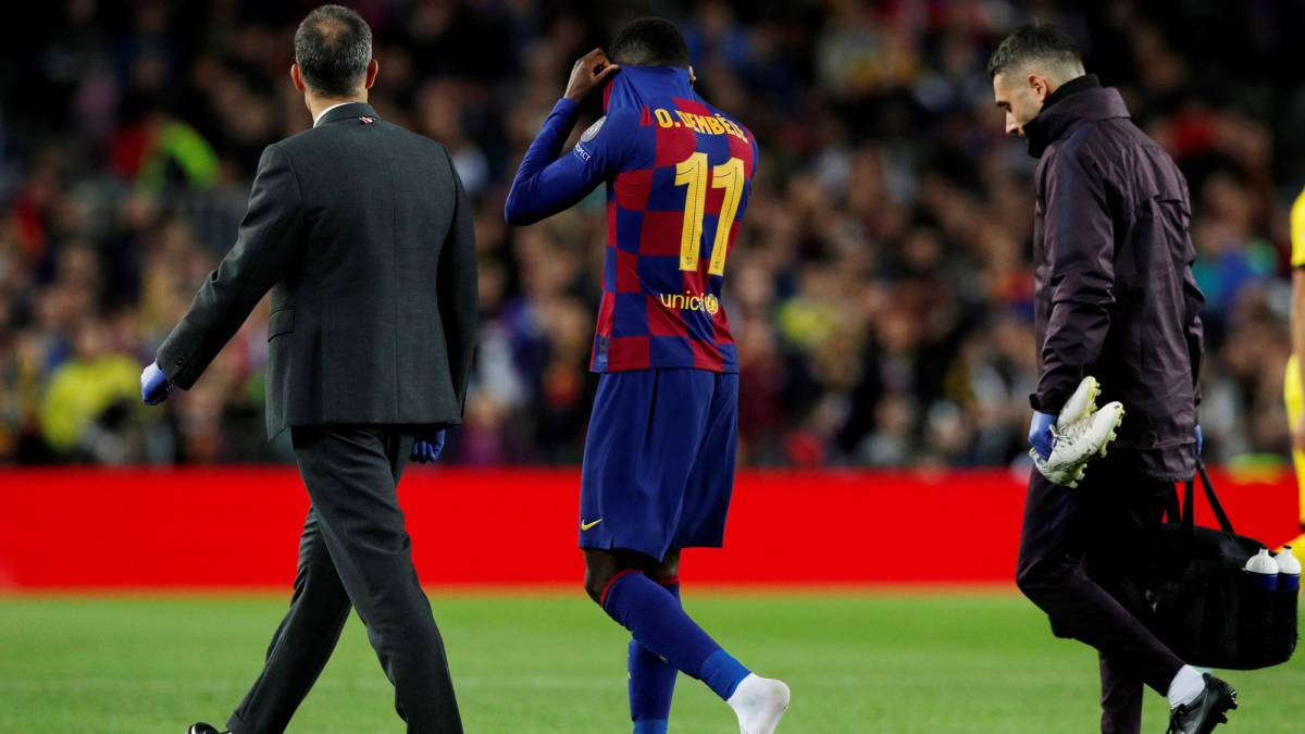 Dembélé-will-start-his-injury-recovery-tomorrow-in-Qatar-and-in-Barcelona