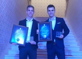 Dani Olmo, elegido el mejor futbolista de los Balcanes