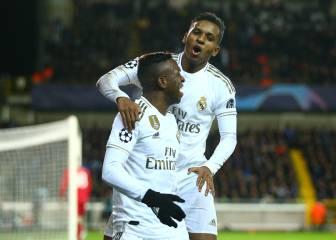 Brujas-Real Madrid Un triunfo con vistas al futuro 2