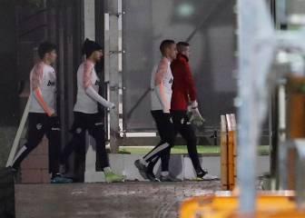 Gameiro no se entrena y es duda para recibir al Madrid